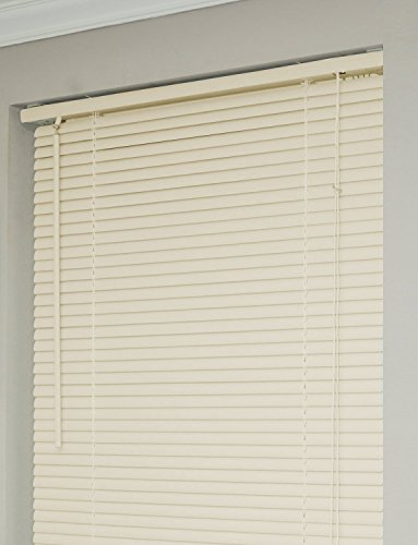Achim Home Furnishings 1-Inch Wide Window Blinds, 30 by 72-Inch, Alabaster