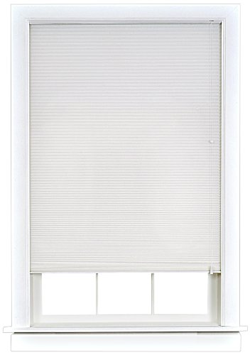 Achim Home Furnishings Honeycomb Cellular Shade, 31-Inch by 64-Inch, White