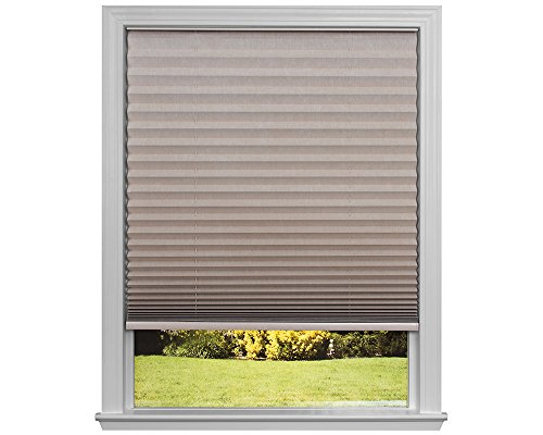 Easy Lift Trim-at-Home Cordless Light Blocking Pleated Shade