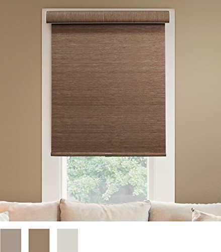 Chicology Deluxe Free-Stop Cordless Roller Shades No Tug Privacy Window Blind, 20″ W X 72″ H, Magnolia (Light Filtering)