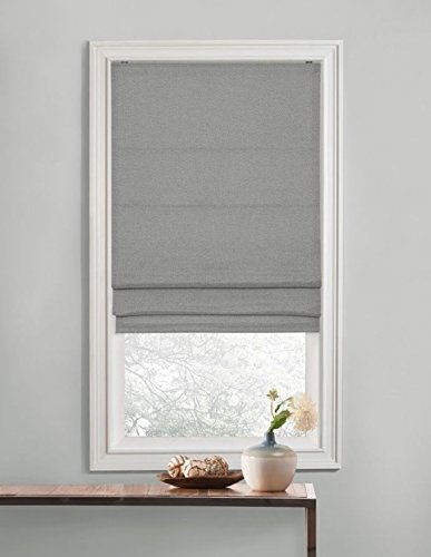 Regal Home Collections Premium Room Darkening Cordless Roman Shades – Assorted Sizes, Styles & Colors