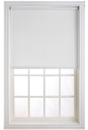 NEWELL RUBBERMAID HRSMWF3706601D Adjustable Wind Shade, White