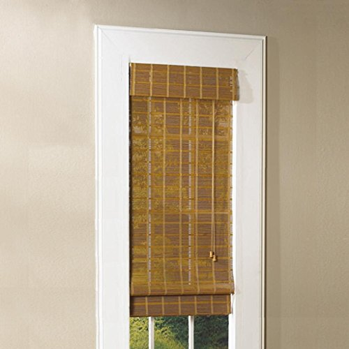 Lewis Hyman 0213100E Bamboo Roman Shade, 23-Inch Wide by 72-Inch Long, Natural Monterrey